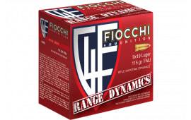 Fiocchi 9ARD100 Range Dynamics 9mm Luger 115 GR Full Metal Jacket - 1000rd Case