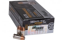 Sig Sauer E380A1-50 380 90 Jacketed Hollow Point VCRWN - 50rd Box