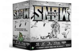 """Hevishot hot 20002 HEVI-SNOW WF 12 3"""" 2 11/4 - 25sh Box"""