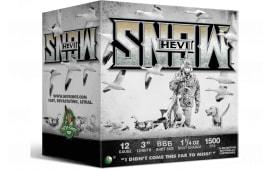 "Hevishot hot 20888 HEVI-SNOW WF 12 3"" BBB 11/4 - 25sh Box"