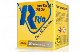 RIO Ammunition Ammunition Ammunition TT209 20 2.75 7/8OZ TRGT - 250sh Case