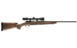 "Browning 035279216 X-Bolt Micro-Midas Left Hand 7mm-08 20"" 4+1 Walnut Stock Blued"