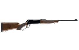 """Browning 034009120 BLR Lightweight with Pistol Grip Lever 358 Winchester 20"""" 4+1 Walnut Stock Blued"""
