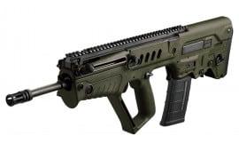 "IWI US TSG18 Tavor SAR Semi-Auto .223/5.56 NATO 18"" 30+1 Polymer Bullpup OD Green Stock Blued"