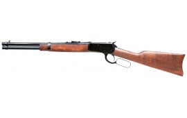 """Rossi 923571613 R92 Lever Action Carbine 357 Magazine/38 Special 16"""" 8+1 Brazillian Hardwood Stock Blued"""