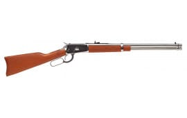 """Rossi 923572093 R92 Lever Action Carbine 357 Magazine/38 Special 20"""" 10+1 Brazillian Hardwood Stock Stainless Steel"""
