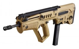"IWI TSFD179 Tavor SAR Semi-Auto 9mm Luger 17"" 32+1 Polymer Bullpup OD Green Stock Blued"