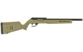 "Tactical Solutions TEMBBMFBE X-Ring 10/22 Semi-Auto 22 LR 16.5"" 10+1 Magpul Hunter X-22 FDE Stock Black"