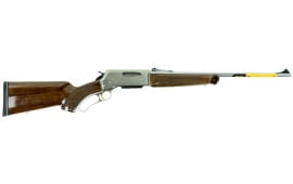 "Browning 034017111 BLR White Gold Medallion Lever 243 Winchester 20"" 4+1 Walnut Grade IV/V Stock Blued Barrel/Nickel Receiver"