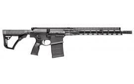 """Daniel Defense 18043047 DD5 V1 Semi-Auto 308 Winchester/7.62 NATO 16"""" FS 20+1 6-Position Black Cerakote"""