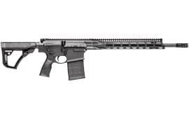 """Daniel Defense 19144047 DD5 V2 Semi-Auto 308 Winchester/7.62 NATO 18"""" 30+1 6-Position Black"""