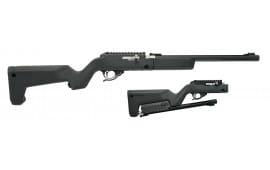 "Tactical Solutions TDMBBBBLK X-Ring Takedown Semi-Auto 22 LR 16.5"" 10+1 Magpul Backpacker Black"