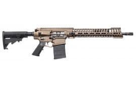 """POF 01371 P308 Hybrid Semi-Auto 308 Winchester/7.62 NATO 16"""" 30+1 A3 Burnt Bronze"""