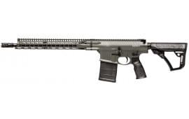 """Daniel Defense 01209047 DD5 V1 Semi-Auto 308 Winchester/7.62 NATO 16"""" 20+1 6-Position Green Cerakote"""