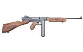 "Thompson TM1C9L20 M1 Lightweight Carbine Semi-Auto 9mm Luger 16.5"" 20+1 Walnut Stock Black Hard Coat Anodized"
