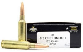 Arms FAC65CIN 6.5 Creedmoor 123 HPBT - 20rd Box