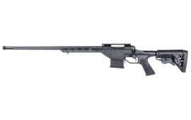 "Savage 22665 110BA Stealth Bolt 338 Lapua Magazine 24"" 5+1 Synthetic/Aluminum Chassis Black LH"