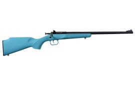 "Crickett KSA2302 Single Shot Synthetic Bolt 22 LR 16.125"" 1 Synthetic Blue Stock Blued"