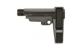 SB Tactical SBA3 Pistol Brace w/Milspec Carbine Buffer Tube 5 Position - SBBSBA301SB