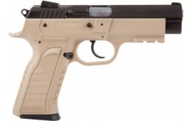 "EAA Tanfoglio Witness 9mm Flat Dark Earth Polymer Frame 4.5"" Barrel, 16+1 Capacity - 999344"