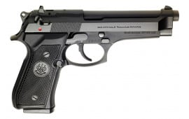 Beretta 92FS 9mm Semi-Auto Pistol Factory New (Police Special) Model with (3) 15rd Magazines - JS92F630