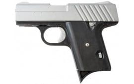 Cobra DEN380C Denali Sub Compact .380 ACP Semi-Auto Chrome w/ Black Polymer Grips