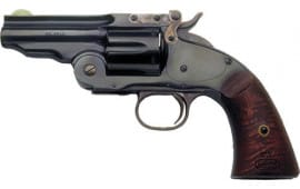 "Cimarron CA864 NO.3 Schofield 3.5"" FS Blued Walnut Revolver"