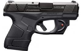 Mossberg 89004 MC-1 Striker PSTL 9 3.4 Black 6+1 RD/LSR