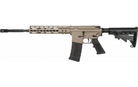 "ATI G15MS556KMFD Mil-Sport AR-15 Semi-Auto 16"" 30+1 6-Position Flat Dark Earth Cerakote Receiver/Black Barrel"