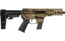 CMMG 45A691CBB Pistol Banshee 300 MKG 45 ACP(GLOCK)13rd Burnt Bronze