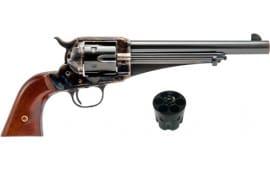 """Cimarron CA154 1875 Outlaw .45LC/ACP 2-CYL. FS 7.5"""" CC/BLUED Wood Revolver"""