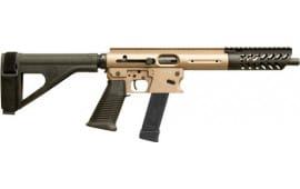 """TNW Firearms ASRPXPKG0045BKTNBRHG Aero Survival Pistol 8"""" 26rd w/BRACE Dark Earth"""