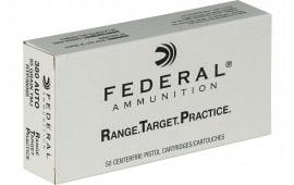 Federal RTP38095 380 95 FMJ RNGTRT - 50rd Box