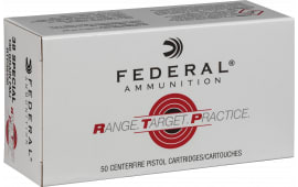 Federal RTP38130 38SP 130 FMJ RNGTRT - 50rd Box