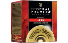 "Federal PF1634 Wing-Shok High Velocity Lead 16ga 2.75"" 1-1/8oz #5 Shot - 250sh Case"