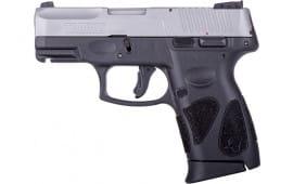 Taurus 1-G2C939-10 G2C 10rd3-DOT ADJ. Matte SS Polymer