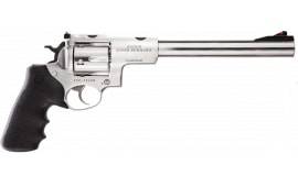 "Ruger 5502 Super Redhawk DA/SA 9.5"" 6rd Black Hogue Tamer Monogrip Grip Stainless Revolver"