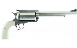 "Magnum Research BFR45LC410B BFR Long Cylinder SS Single 7.5"" 5 Bisley Black Laminate Stainless Steel Revolver"