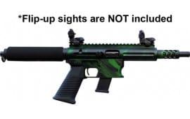 "TNW Firearms ASRPXPKG0040BKGNXXXX Aero Survival Pistol 8"" 31rd Tiger Green"