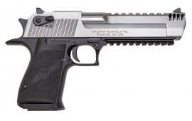 """Magnum Research DE50ASIMB Desert Eagle Mark XIX Stainless Steel DA/SA 50 Action Express 6"""" 7+1 Black"""