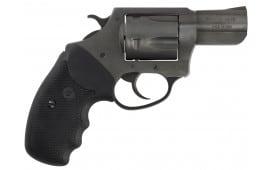 "Charter Arms 64420 Bulldog 44 Special Double 2.5"" 5 Black Rubber Black Nitride"