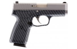 "Kahr Arms CW9093BCF CW9 Polymer DA/SA 9mm 3.6"" 7+1 Black Polymer Grip"