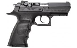 "Magnum Research BE99153RSL Baby Desert Eagle DA/SA 9mm 3.8"" 16+1 Black Carbon Steel"