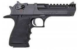 "Magnum Research DE357L5IMB Desert Eagle L5 Series DA/SA .357 Magnum 5"" 9+1 Black Hogue Rubber Finger Groove Grip"