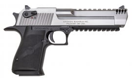 "Magnum Research DE50ASIMB Desert Eagle Mark XIX Stainless Steel DA/SA 50 Action Express 6"" 7+1 Black"