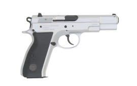 "TriStar Arms S-120 9mm Semi-Auto Pistol, 4.7"" Chrome 15rd - 85070"