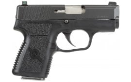 """Kahr Arms PM9094NA PM9 9mm 3"""" 6+1/7+1 NS Textured Black Poly Grip Blackened Stainless"""