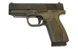 """Bersa BP9GRCC BPCC Concealed Carry Double 9mm Luger 3.3"""" 8+1 Gray Polymer Grip/Frame Grip Black"""