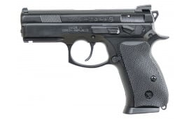 "CZ 91229 P-01 Omega DA/SA 9mm 3.8"" 14+1 Black Rubber Grip"