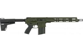"Diamondback DB10PODG13 DB10 AR Pistol Semi-Auto 13.5"" 20+1 Polymer OD Green Receiver/Black Barrel"